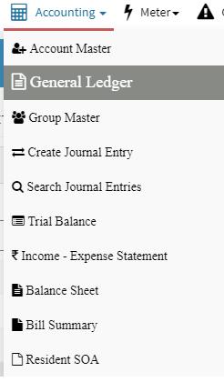 society accounting statement