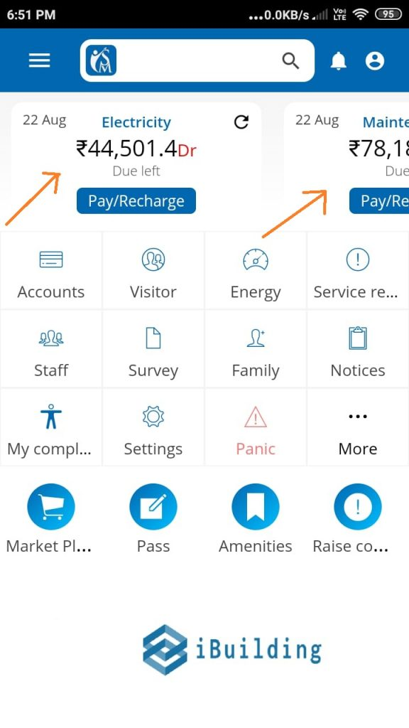 society app bill payment options