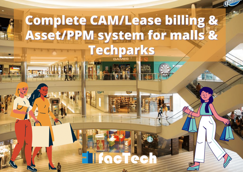 cam lease rent and facility managment for shopping centres shopping malls