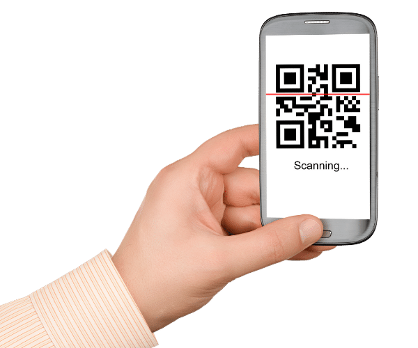 qr code scan based visitor management
